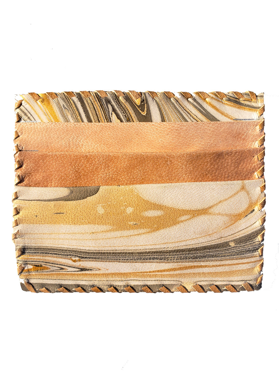 Card Case Marbled Leather