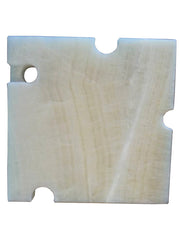 White Onyx Cheeseboards Two Shapes