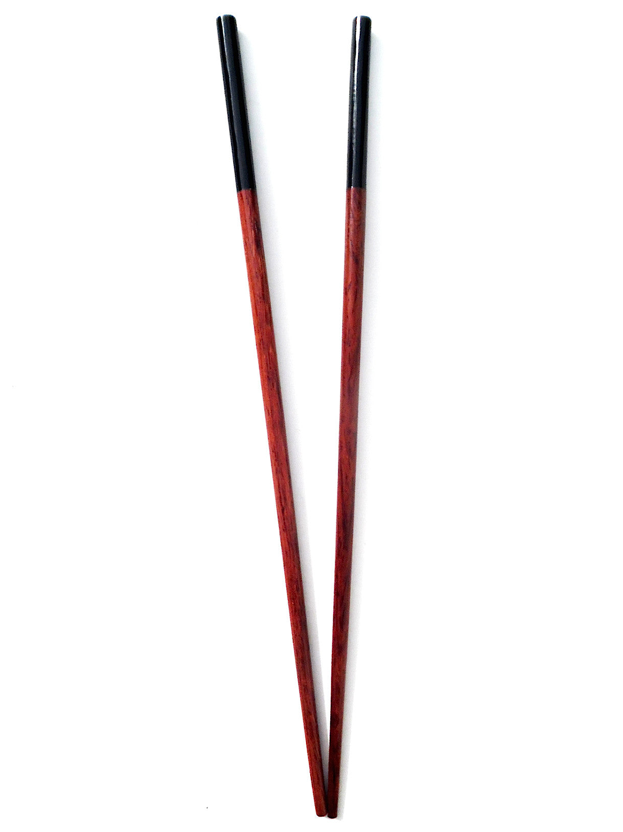 Chopsticks Rosewood Round And Black Horn 5Cm