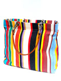 French Cotton Stripe Bags Multipstripe 3