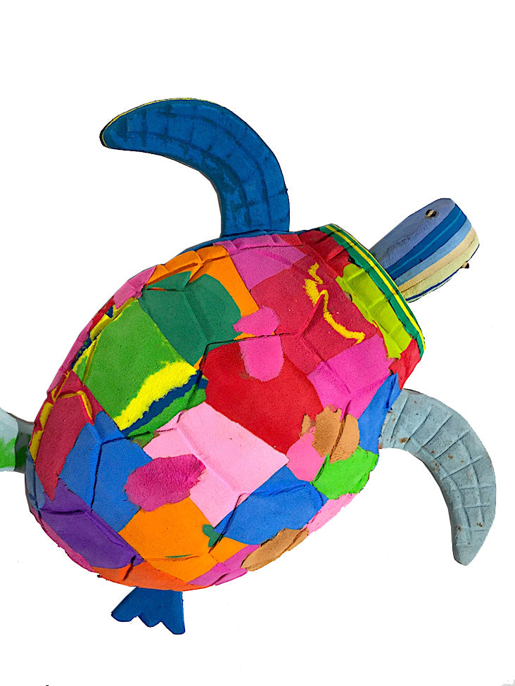 Recycled Rubber Turtle Large