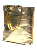 Gajumbo Tote Bag Metallic Leather