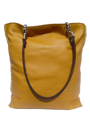 Gajumbo Tote Bag Napa Leather Golden Wheat