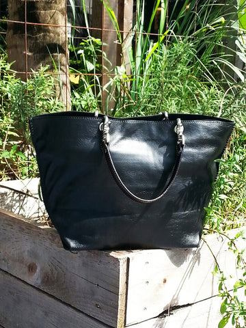 Gamidi 2 Tote Napa Leather Black