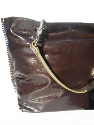 Gamidi Tote Bag Patent Leather