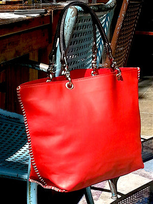 Gamidi Tote Bag Nappa Leather