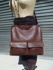 Gapock X Crossbody Bag Pebble Grain Leather Black