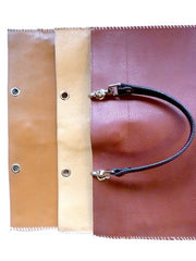 Flat Tote Pebble Grain Leather