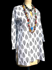 Raja Cotton Tunic Arabia