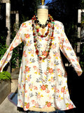 Raja Cotton Tunic Flora Bella