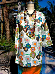 Raja Cotton Tunic Poppy
