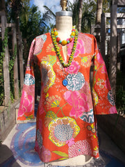 Raja Cotton Tunic Provence Orange