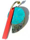Earrings Klee Coral Garden Patina