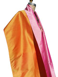 Double Sided Evening Shawl Candy Pink Tangerine