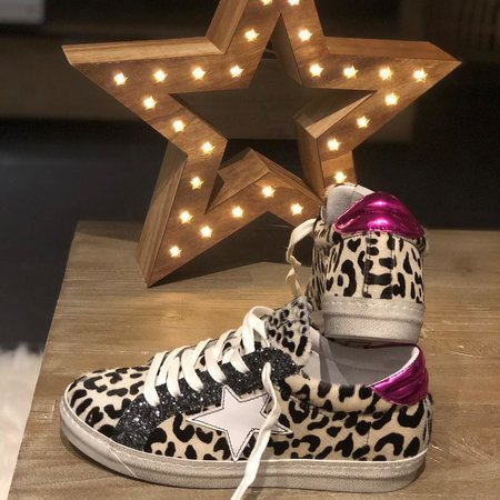 Leopard All Season Daily Sneakers