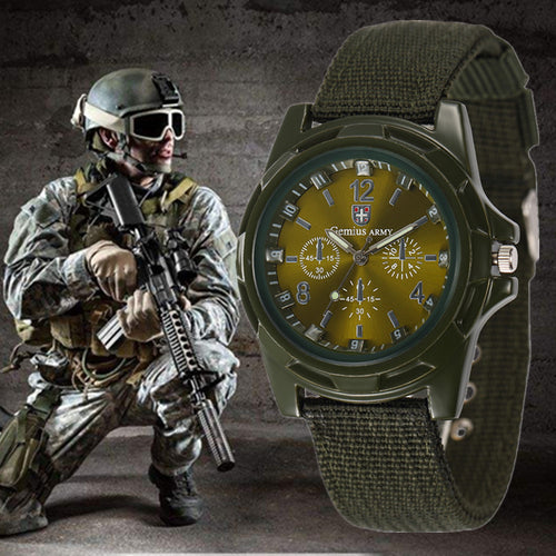 Men's Military New Stylish Switzerland Sports Watchband