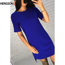 Load image into Gallery viewer, Mini O-neck Short Sleeve Elegant Party Dress