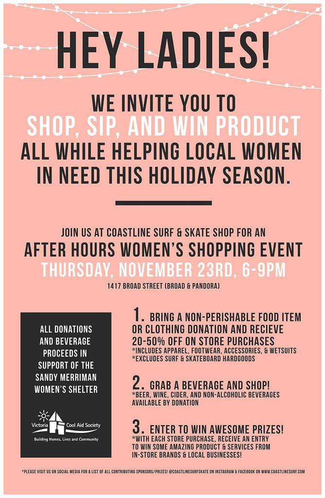Ladies Night Shopping FUNdraiser *And More*!