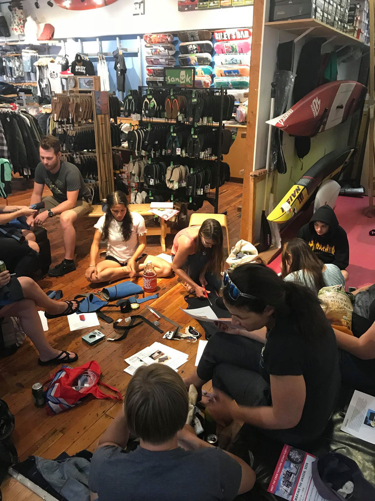Wetsuit Upcycling Clinic with Surfrider Vancouver Island
