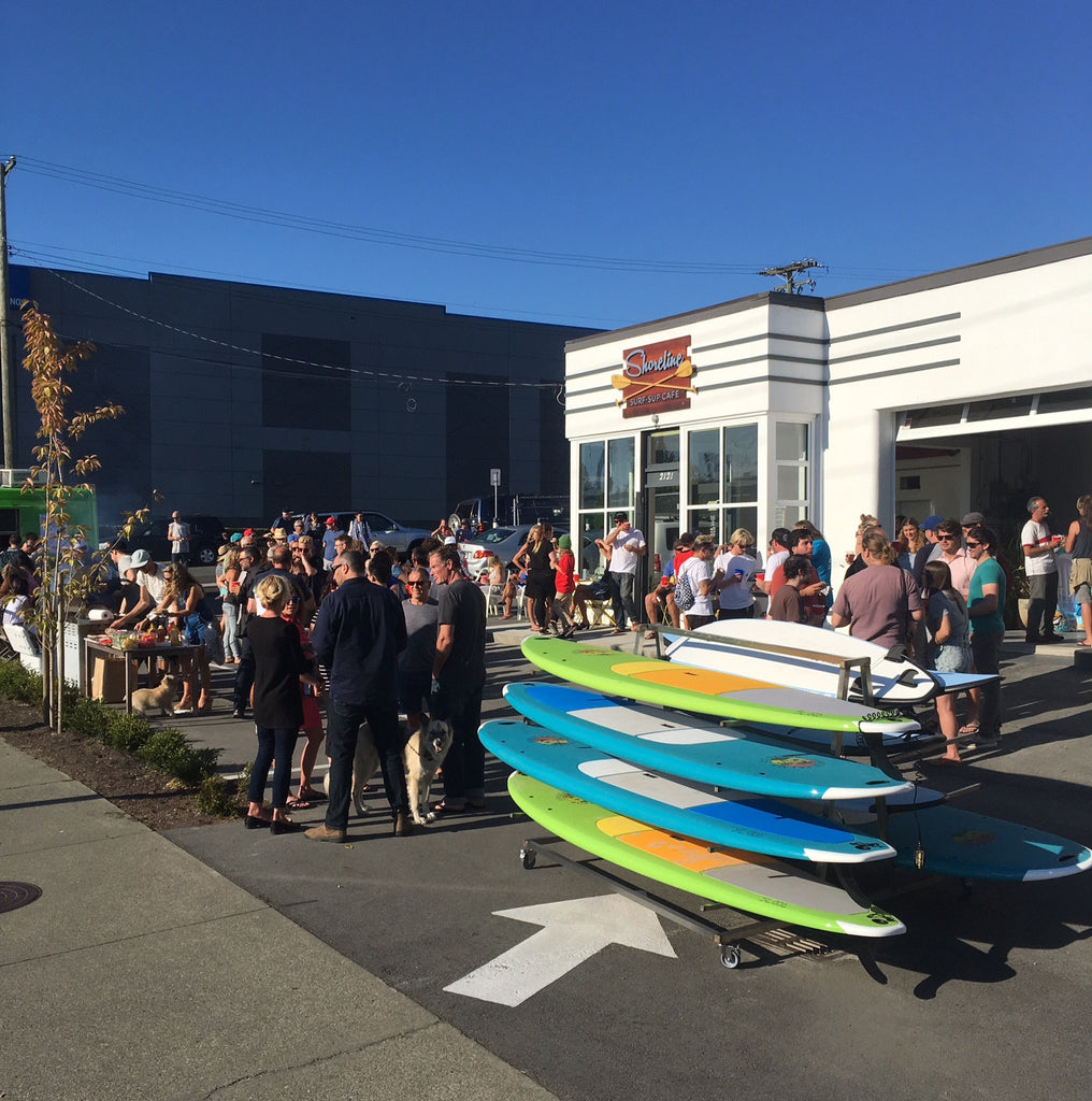 Shoreline Surf and Sup Cafe