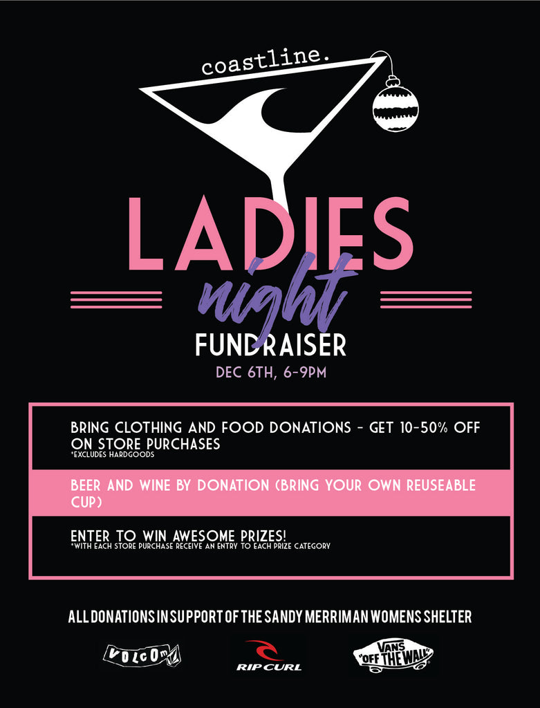 Ladies Night Shopping Fundraiser