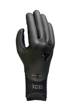 Xcel 3mm 5 Finger Drylock Glove