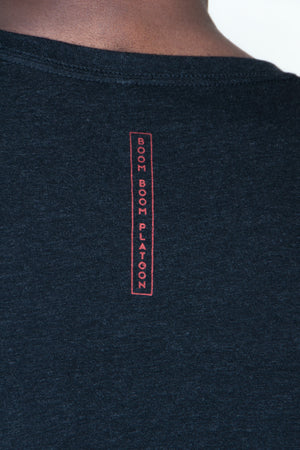 Men's Tee - BBP Logo Black/Red
