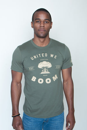 Men's Tee - United We Boom Explosion
