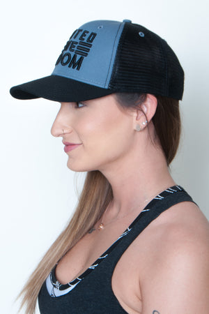 Snapback Mesh Mid Profile Hat - United We Boom