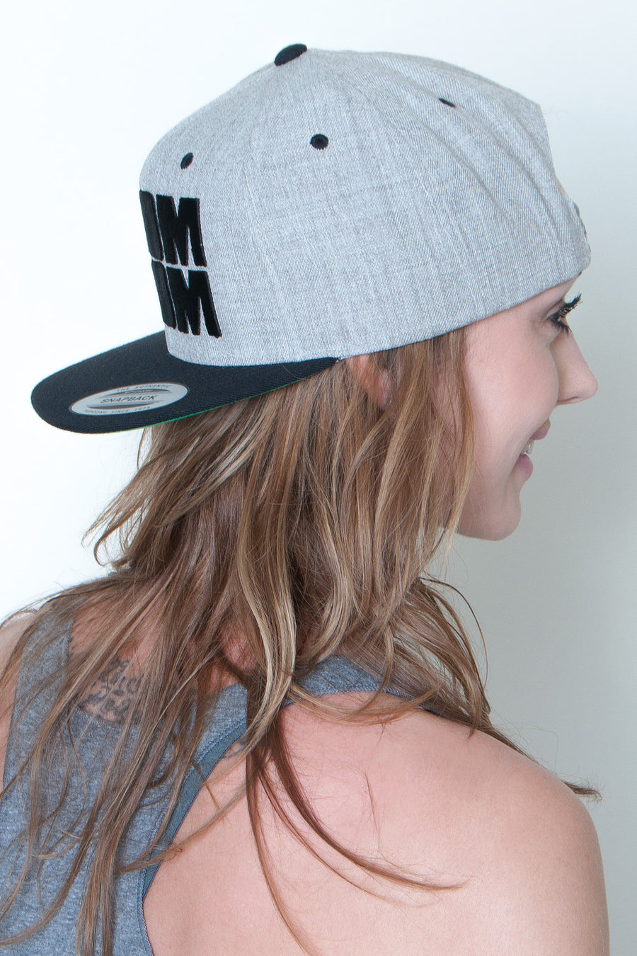 Snapback High Profile Hat - Boom Boom