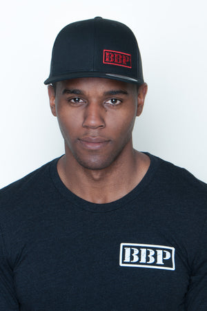 Snapback Mesh High Profile Hat - BBP Logo