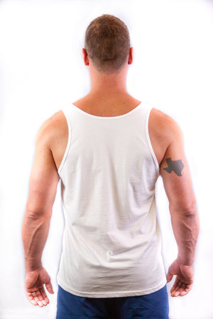 Men's Tank - In Boom We Trust White