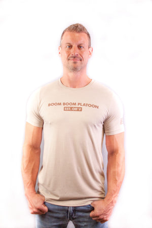 Men's Tee - EST OIF V Tan