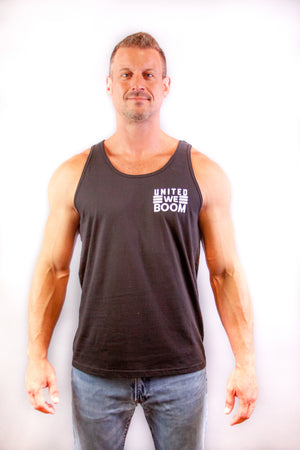 Men's Tank - United We Boom - First Responders