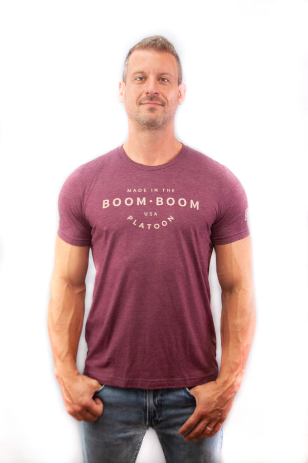 Men's Tee - Made In The USA Maroon