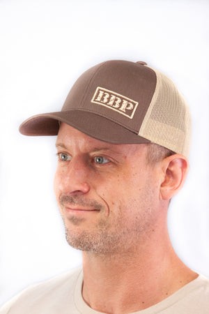 Trucker Hat - Brown and Khaki BBP