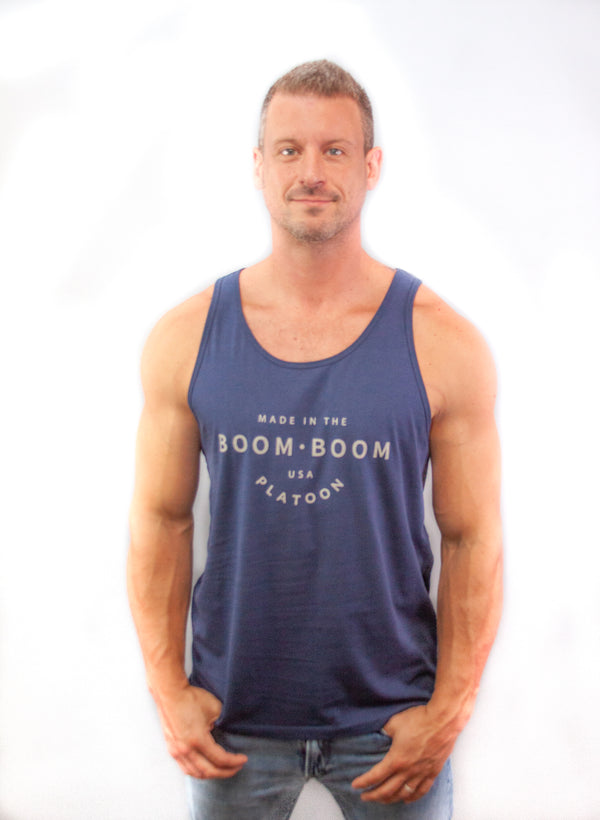 Men's Tank - Made In The USA Navy