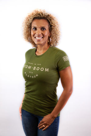 Women's Tee - Made In The USA Green