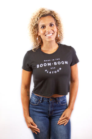 Women's Mid Tee - Made In The USA Black