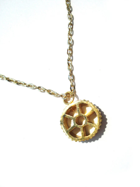 18K Gold Plated Ruote Pendant