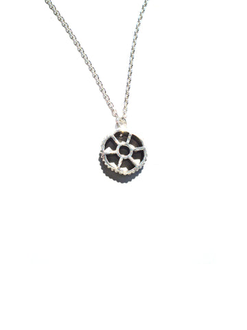 Sterling Silver Ruote Pendant