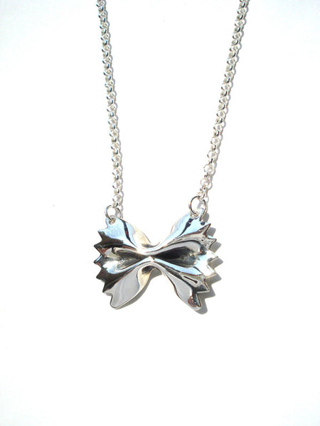 Sterling Silver Farfalle Pendant (Large)