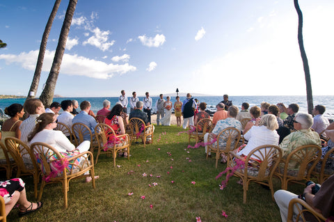 Maui restaurants as wedding venues mauis paradise dream wedding five palmssite fee and food and beverage minimum applies please contact us for junglespirit Choice Image