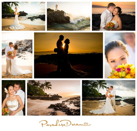 Maui Photo Tour 3 Locations, 3 twenty minute sessions, 200 images