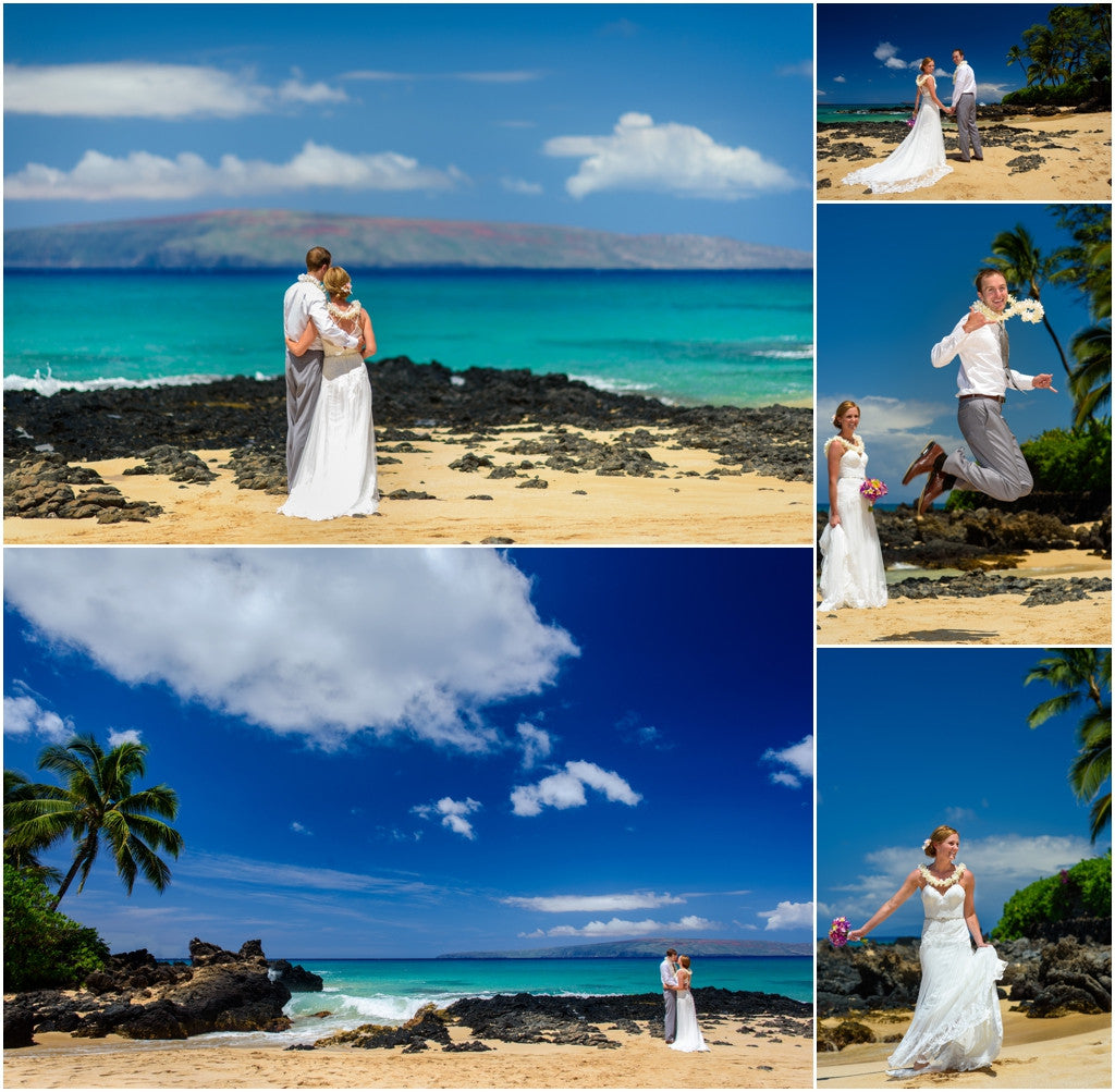 Hawaii Wedding Packages: Hawaii Romance, 2 Hours, 400 Images