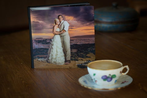 8X8 Inch Flush Mount Album, Digitally Designed with FREE Shipping