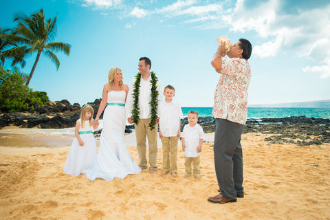 Hibiscus Vow Renewal Package