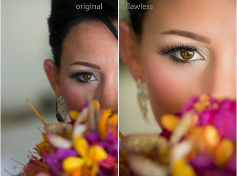 Major Retouch with Thinning & Color Enhanced Images