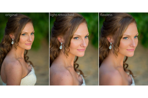 Flawless Retouched  & Color Enhanced Images