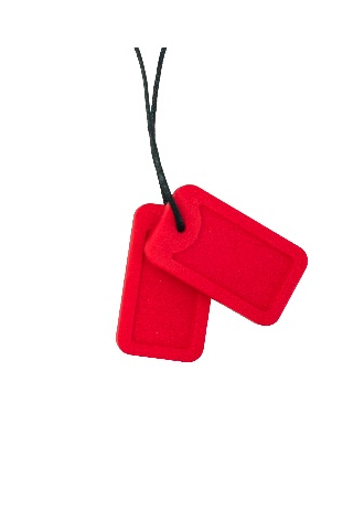 Dog Tags - Code Red